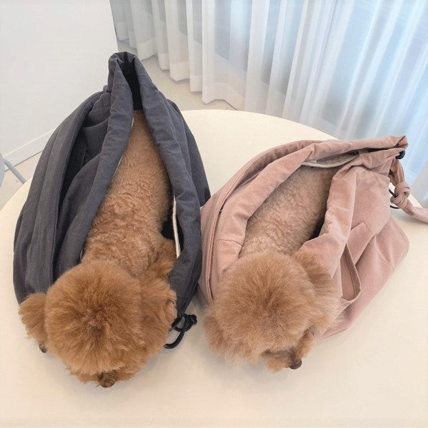 ※予約販売【DOUBLE COMMA】 MANDOO BAG(ベージュ)