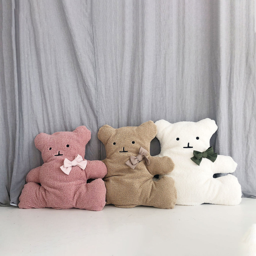 ※※予約販売【monchouchou】Bear Friend cushion(ピンク)