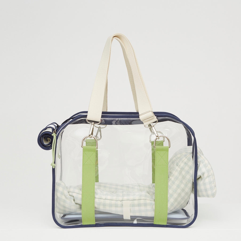 ※※予約販売【ONE OF US】French Clear bag(Rucola Green)