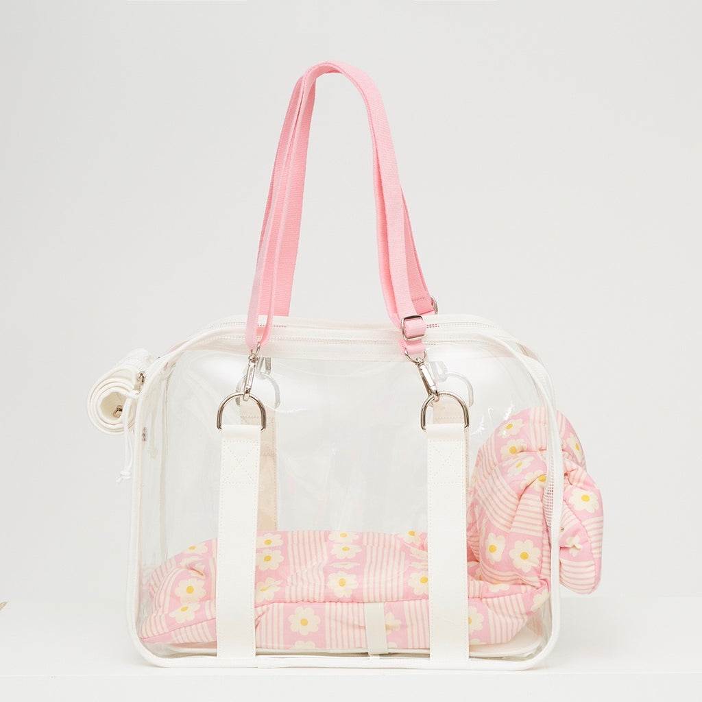 ※予約販売【ONE OF US】French Clear Bag( Milk )