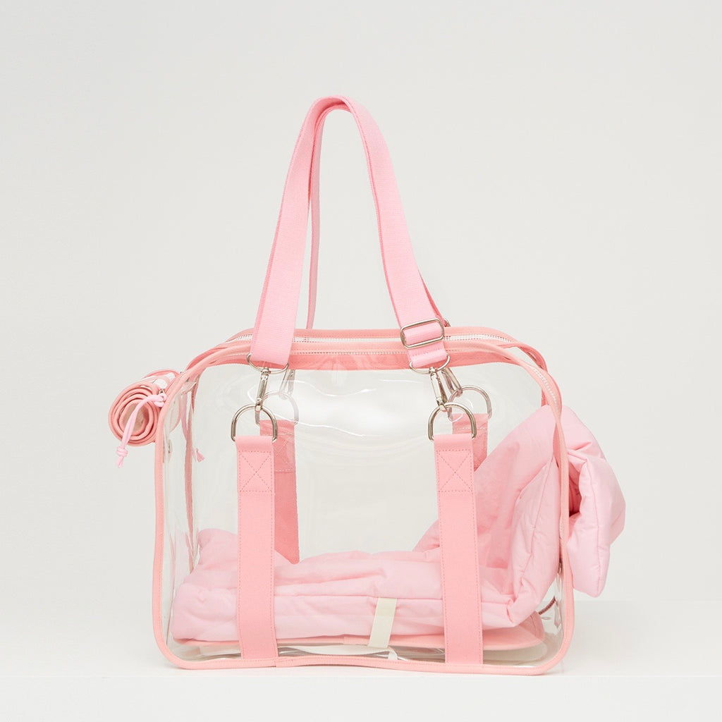 ※※予約販売【ONE OF US】Macaron Clear Bag(Strawberry)