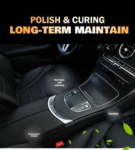 About car leather renewal coating paste