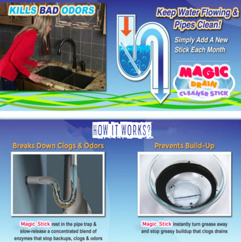 Buy Magic Drain Cleaner Stick