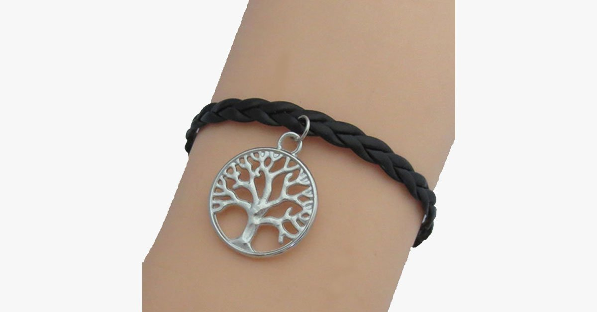 Tree of Life - Braided Bracelet