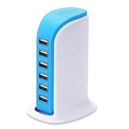 Portable USB charging station – Charge 6 Devices Simultaneously!