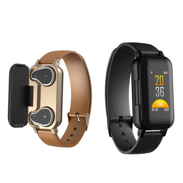 2-In-1 Wireless Bluetooth Headset & Smart Bracelet