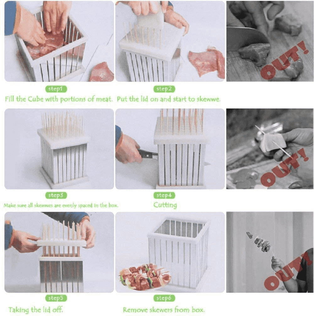 Deals Streak barbecue Skewer Maker Box