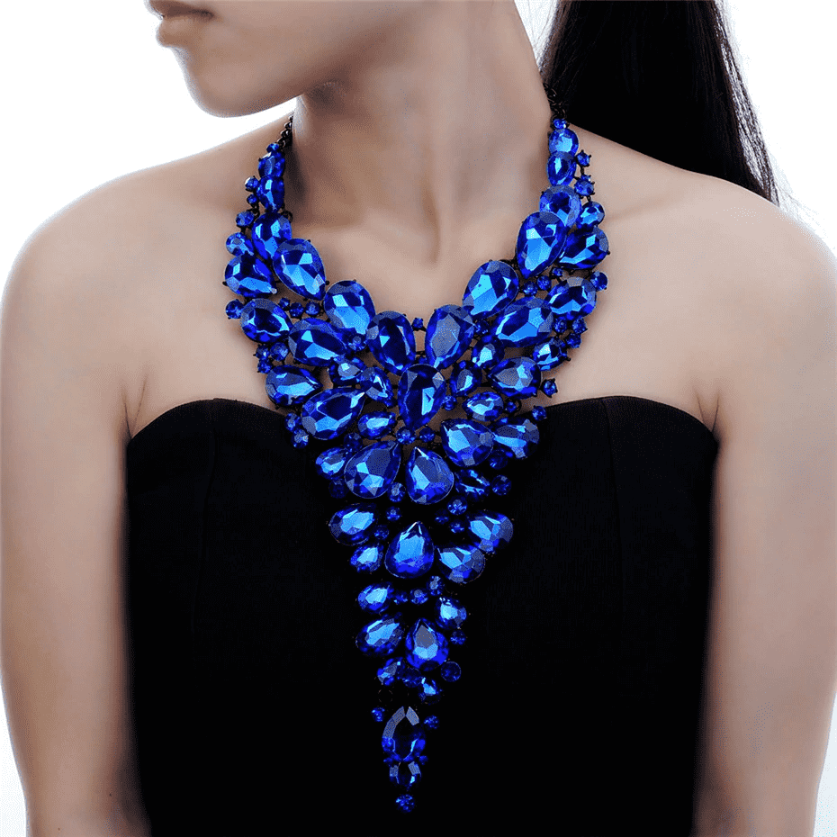 Aesthetic Crystal Necklace