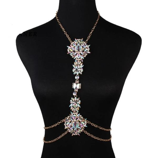 Luxury Crystal Rhinestone Body Chain