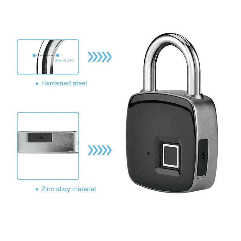 Smart Electronic Fingerprint Lock Features