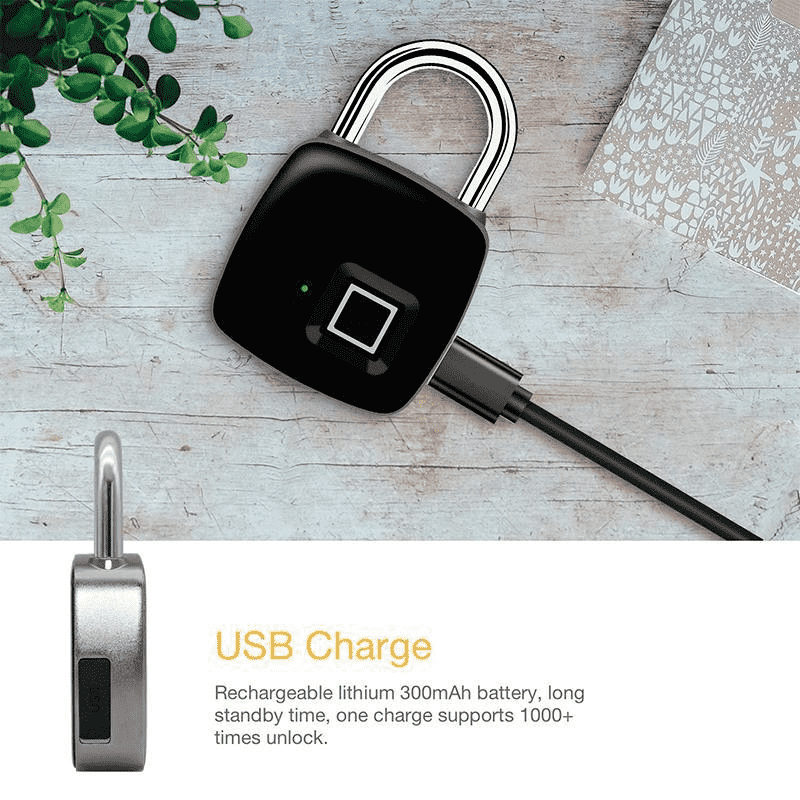 Smart Electronic Fingerprint Lock USB