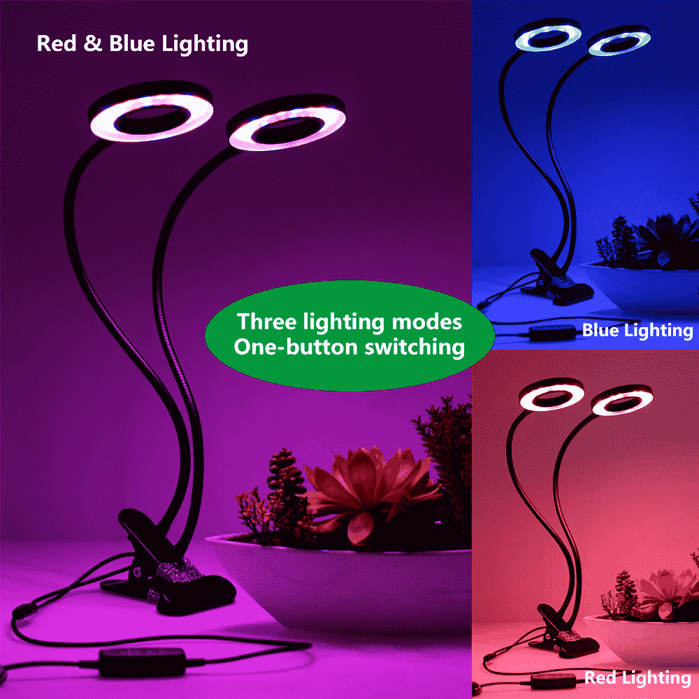 Full Spectrum Hydroponics LED grow lamp light features