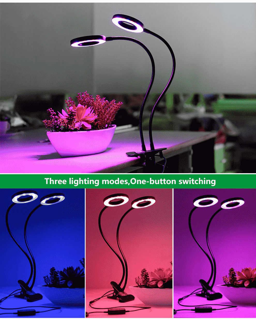 Buy Hydroponics LED grow lamp