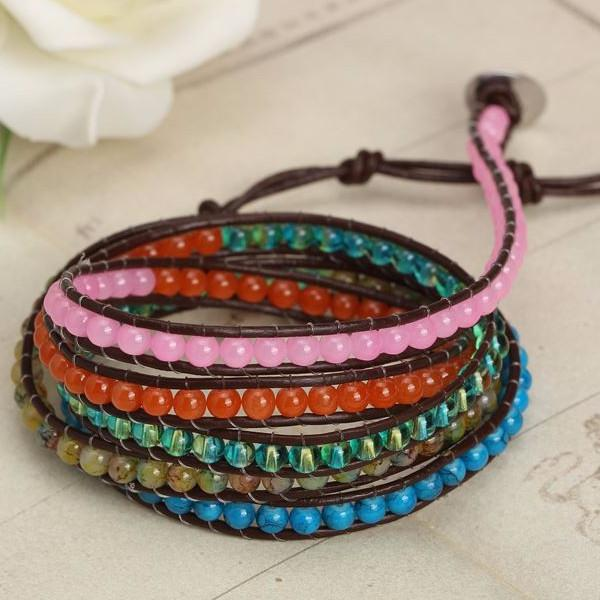 Earth Element Wrap Bracelet