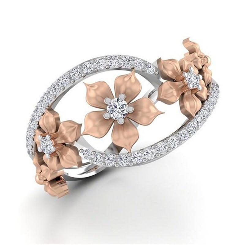 LADY FLOWER RING