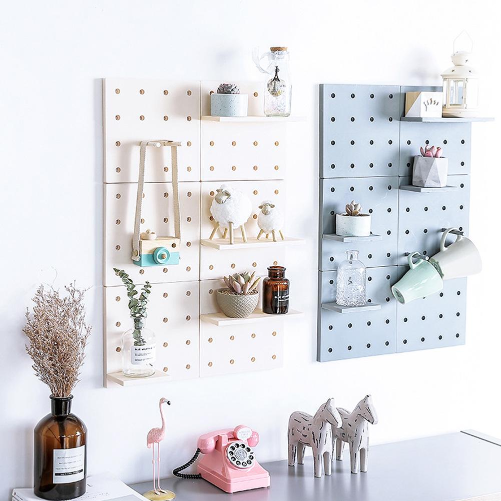 DIY Storage Free Punching Installation Shelf