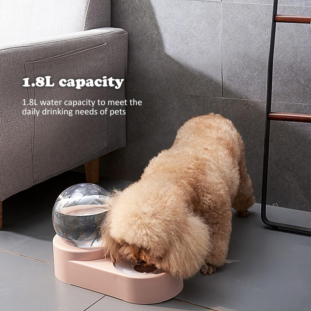 2 in 1 Pet Bowls Automatic Water Dispenser