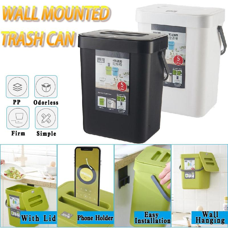Deodorant Wall-Mounted Trash Bin