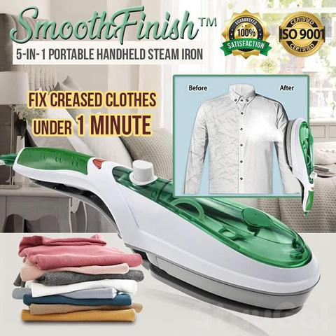 Limited Time Offer Sale - 50 % OFF - Handy Portable Steamer