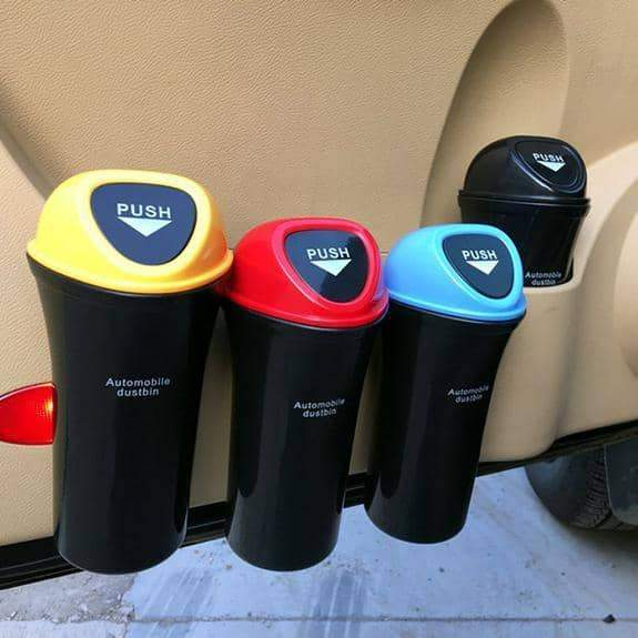 Car Trash Can with Clip