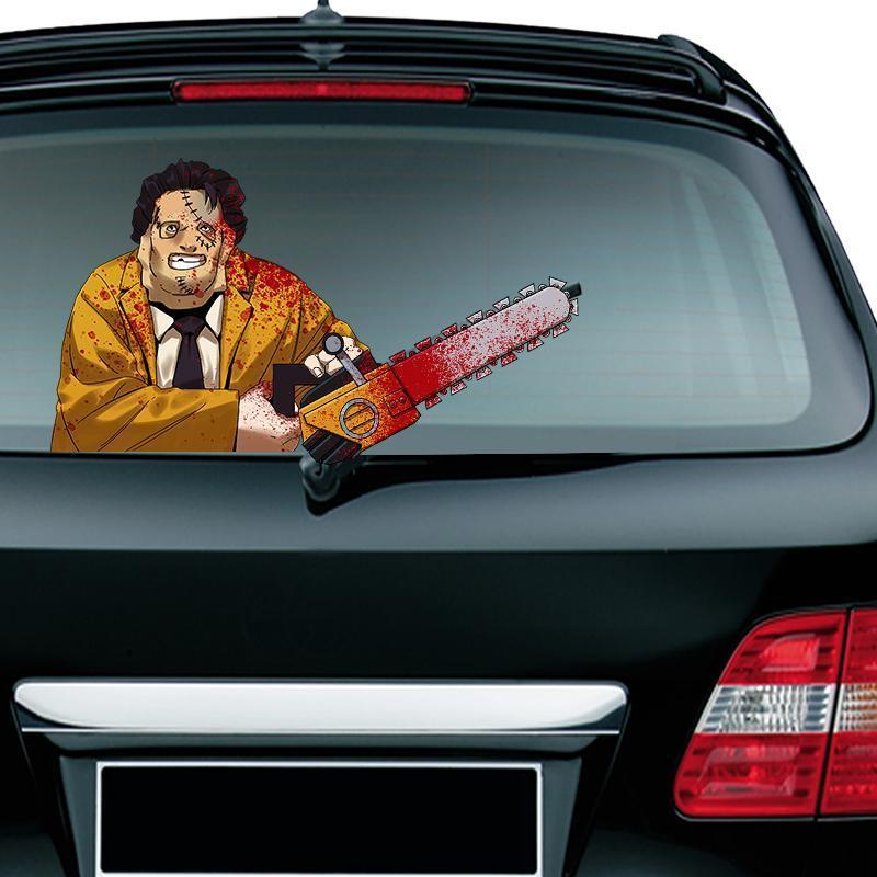 Limited Time Sale - Christmas Halloween Car Rear Window decoration decal sticker