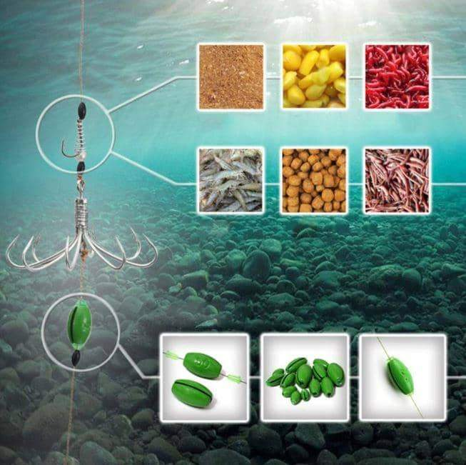 8 in 1 Automatic Fishing Hook