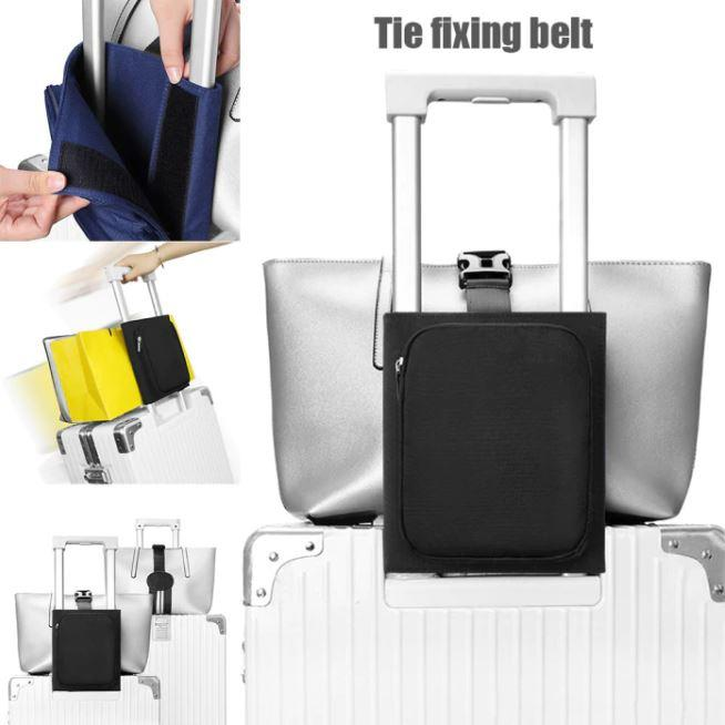 Multi-Functional Travel Organizer Luggage Strap