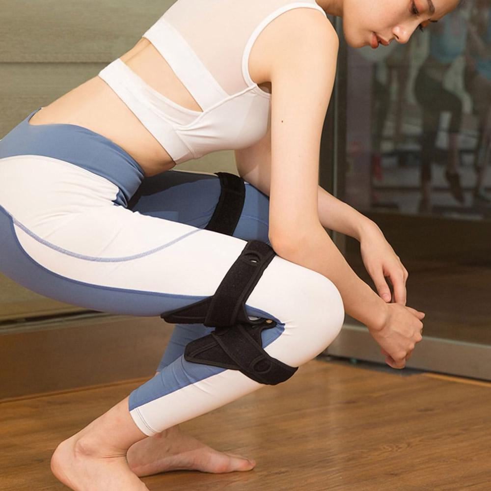 women wearing power knee stabilizer deals streak