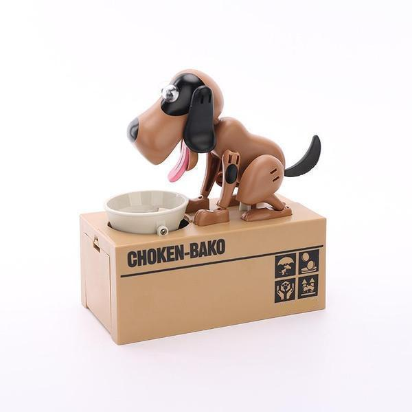 Limited Time Offer Sale - 50 % OFF - Dog Coin Bank >>Dog Piggy Bank Also Children's Accompany Toy