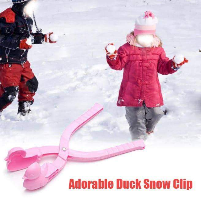 Adorable Duck Snow Clip