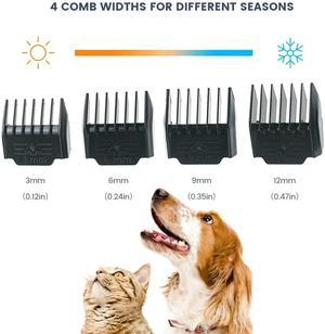The HOMEGROOMER™ Low Noise Pet Hair Clipper