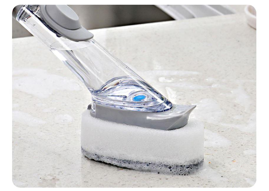 Liquid Long Handle Kitchen Cleaning Brush
