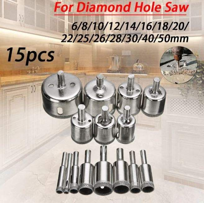 Hole Saw Drill Bits (15pcs set)