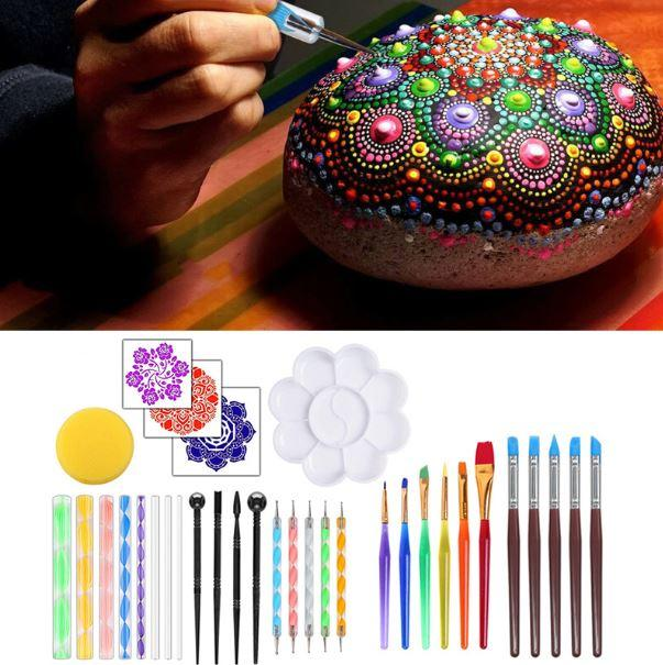 Mandala Dot Painting Tools