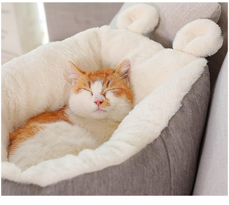 Soft Pet Bed with Ears (ONLY TODAY: 60% OFF!)
