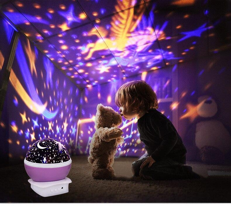 KIDS Sky Lamp, Sky LED Night Light Up Power by USB or Battery