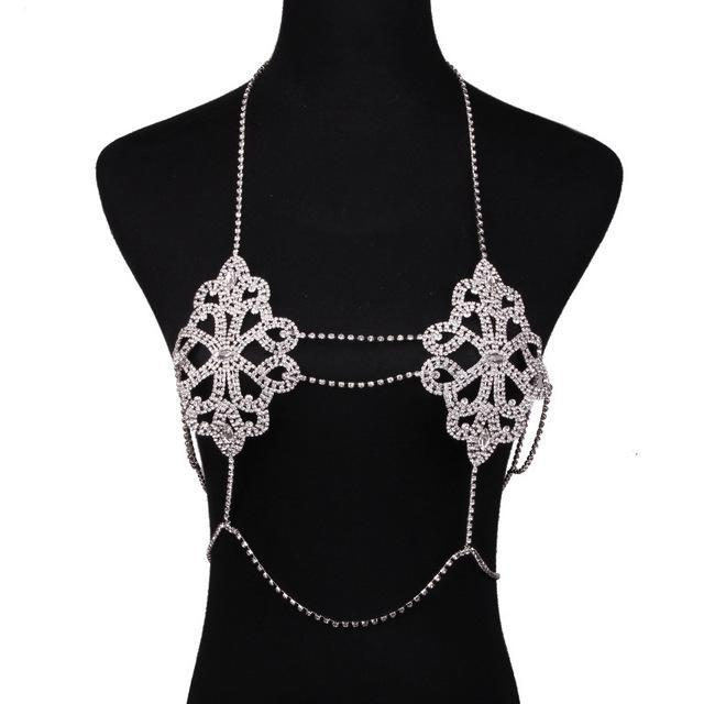 Scarlett Rhinestone Body Jewelry