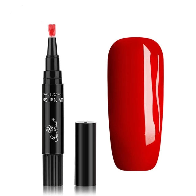 Buy INSTANAIL™ NAIL POLISH PEN rosy red