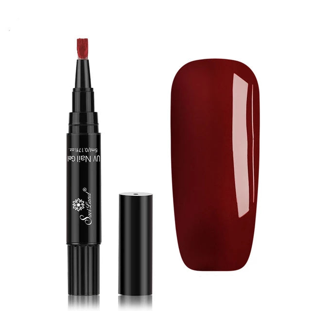 Buy INSTANAIL™ NAIL POLISH PEN maroon
