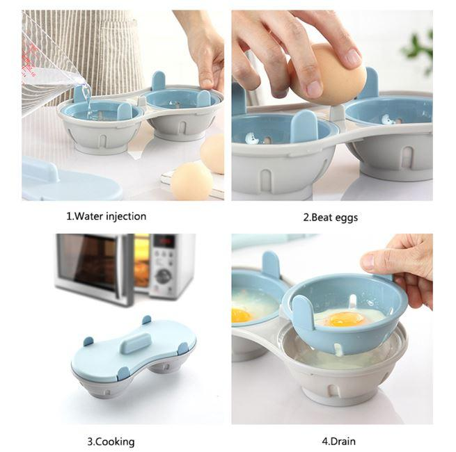 Breakfast Egg Steaming Pot