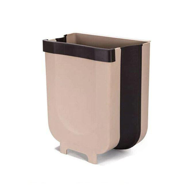 Wall-mounted Folding Trash Can