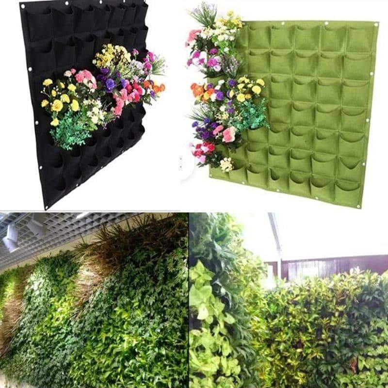 The Wall Garden - Vertical Hanging Growing Bag