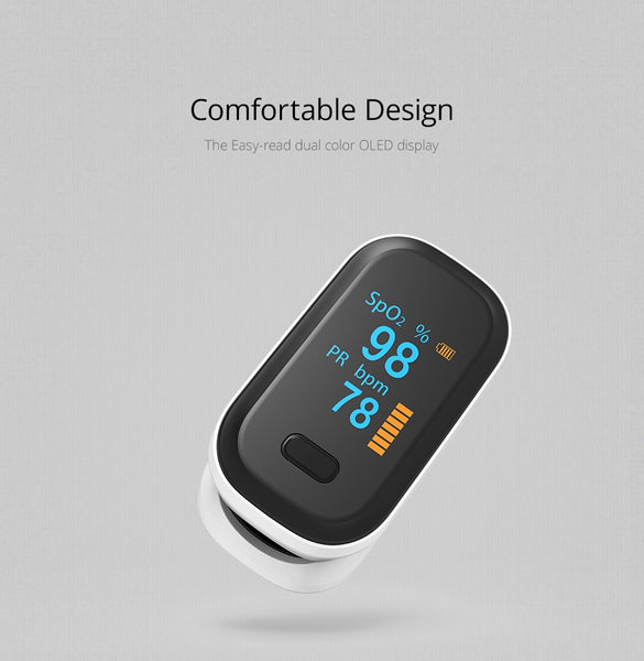 Portable Finger Pulse Oximeter | UBERTECH