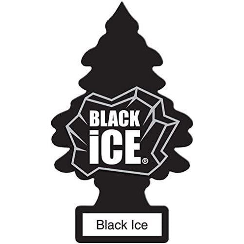 Aromatizante para carros - Little Trees Black Ice