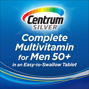 Centrum Silver Masculino, Men +50 275 Tablets