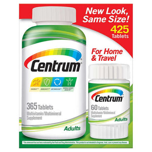 Multivitaminico Centrum Adulto - 425 Cápsulas
