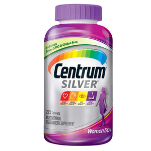 Centrum Silver Feminino, Women +50 275 Tablets