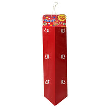 Cardboard Display of Sidekick/Hanging - Triangle shape , Two sides , C Hooks , Rope