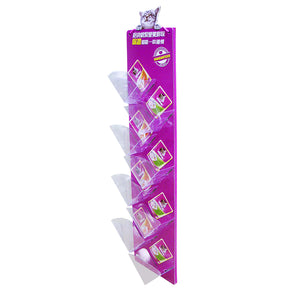 Cardboard Display of Sidekick/Hanging - Plastic Trays , Rope