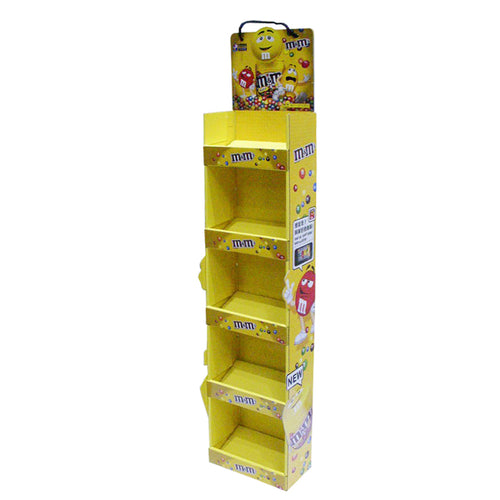 Cardboard Display of Sidekick/Hanging - Five Level shelves , Rope